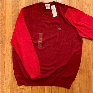 Lacoste Crew Neck Sweater XL